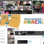 Images from 1 year of implementation of the Social Hackademy