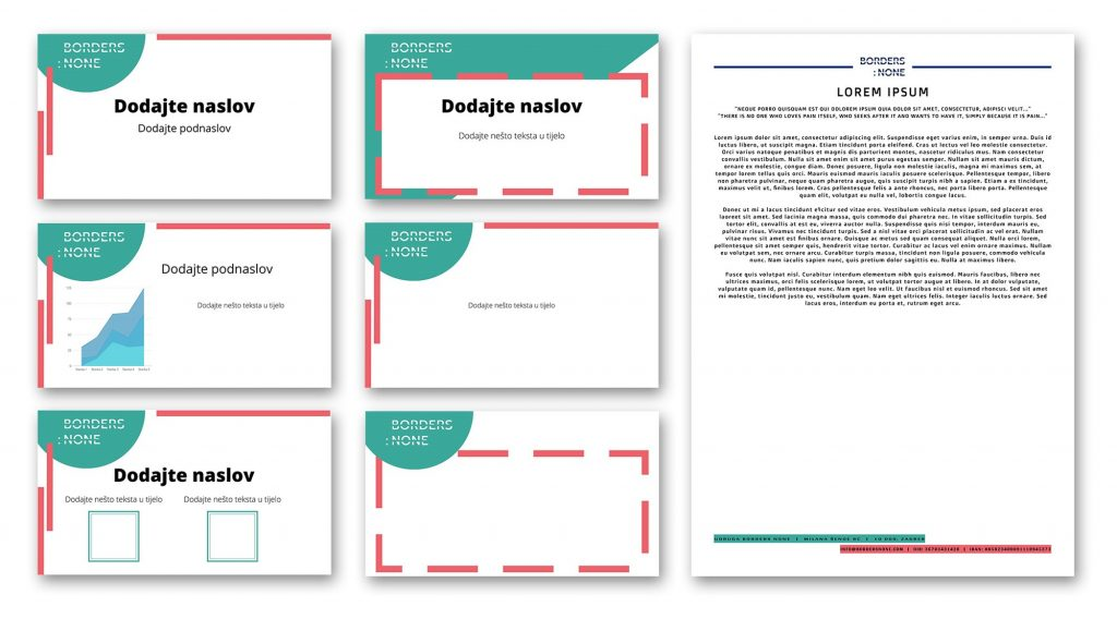 Memo and PPT template developed for Borders: None