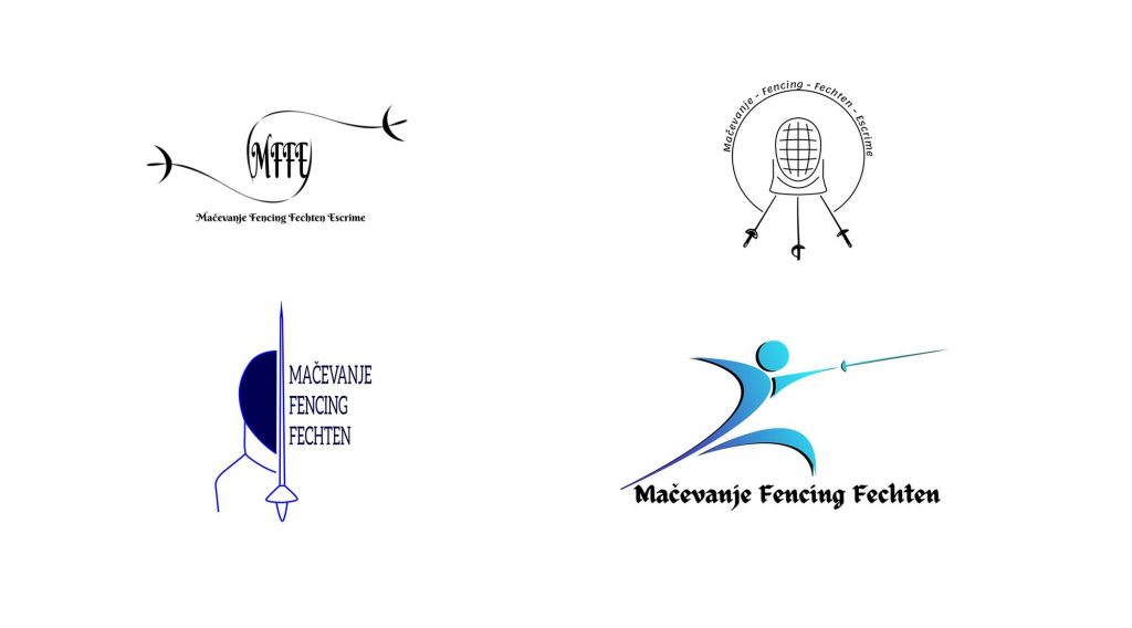 Multiple logos designed by students